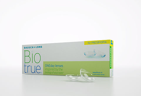 BioTrue<sup>®</sup> ONEday for Presbyopia